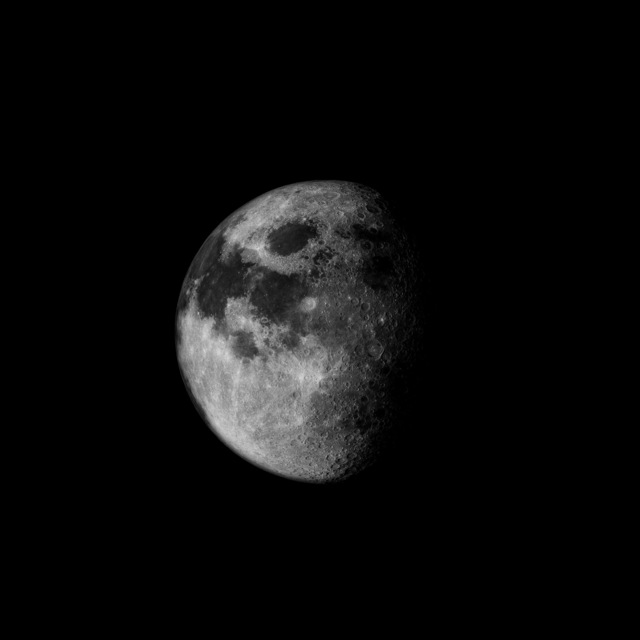 , '023 Half-Moon, Homebound;  Attributed to Alfred Worden, Apollo 15, July 26-August 7, 1971,' 1999, Danziger Gallery