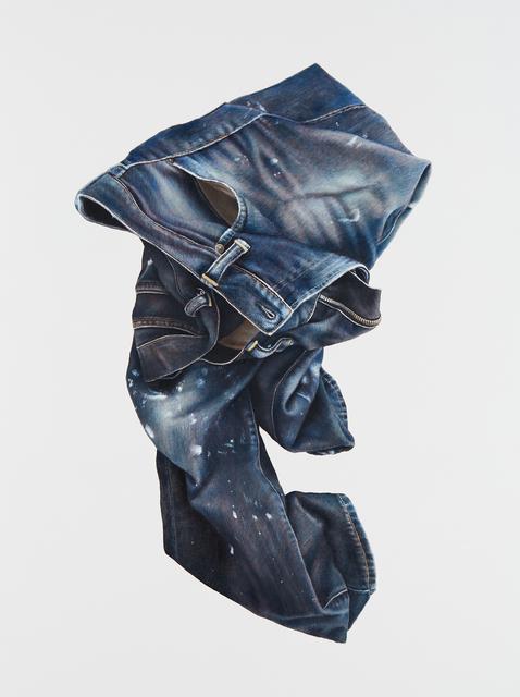 , 'Study in Blue,' 2017, Lois Lambert Gallery