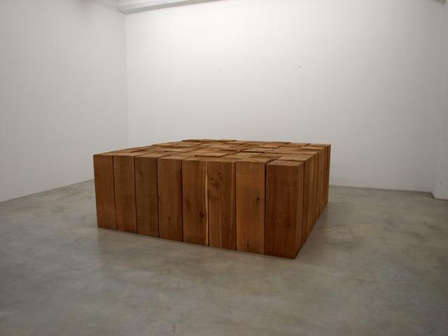 , '8 x 8 Cedar Solid,' 2002, Konrad Fischer Galerie