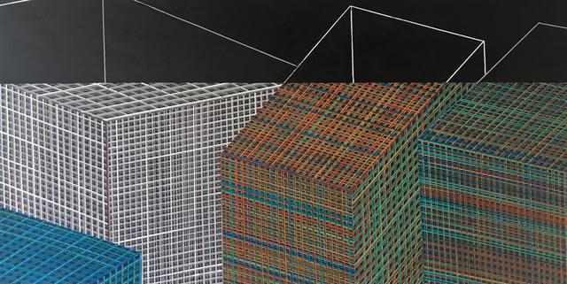 , 'Estruturas,' 2016, Galeria Oscar Cruz