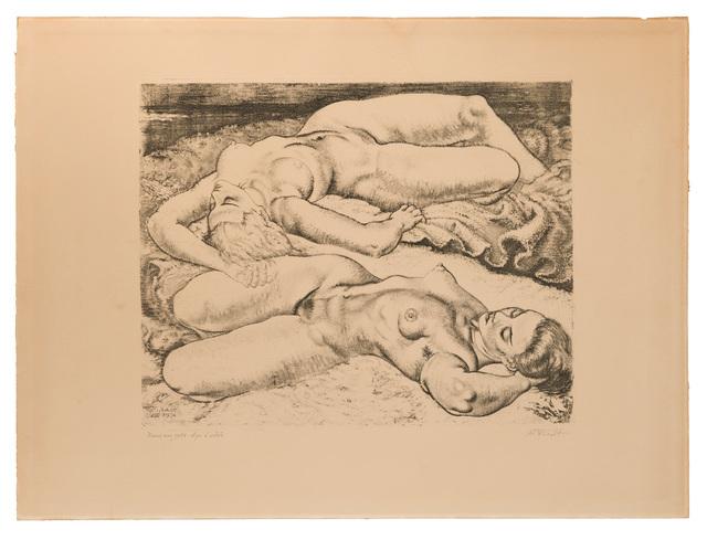 Eduard Wiiralt, 'Naised Rannal (Women on the Beach)', 1934, John Moran Auctioneers