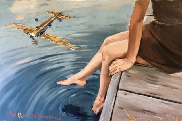 , 'Yellow Submarine,' 2018, Gallery Fine Art Moscow