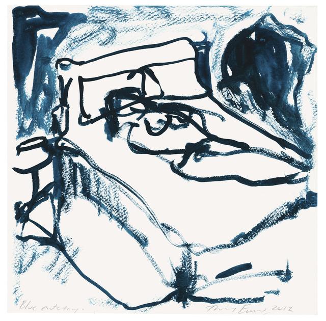 , 'Blue Entity,' 2012, Mind Set Art Center