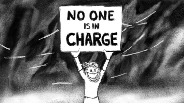 """Heidi Neff, 'No One Is In Charge', 2020, Print, Giclée Print on Cotton Rag paper  (dims reflect mat size, images are 5.625"""" x 10""""), Amos Eno Gallery"""