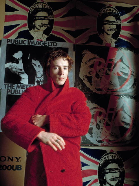Sheila Rock, 'John Lydon (Johnny Rotten) of Public Image Ltd, ex of The Sex Pistols in his apartment, London', ca. 1979, ElliottHalls