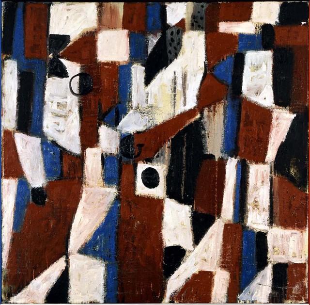 ", '""Komposition (Kongo)"",' 1981, Michael Werner Gallery"