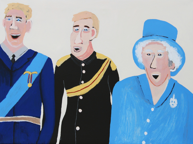 , 'William, Harry and the Queen,' 2016, THIS IS NO FANTASY + Dianne Tanzer Gallery