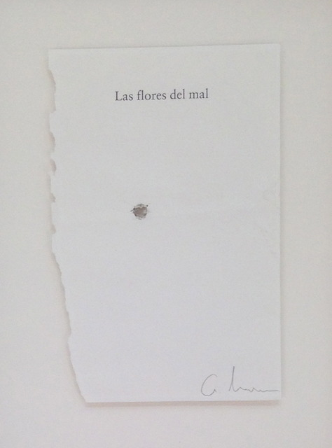 , 'Las flores del mal,' 2013, Travesia Cuatro
