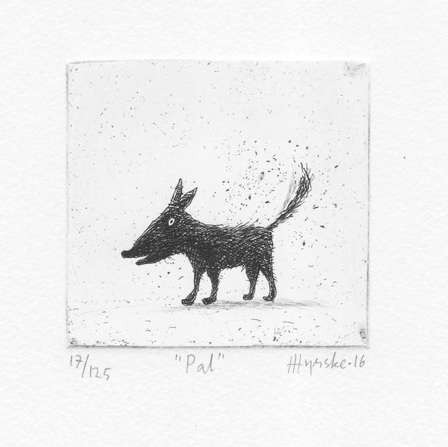 , 'Pal,' , Himmelblau Printmaking Finland
