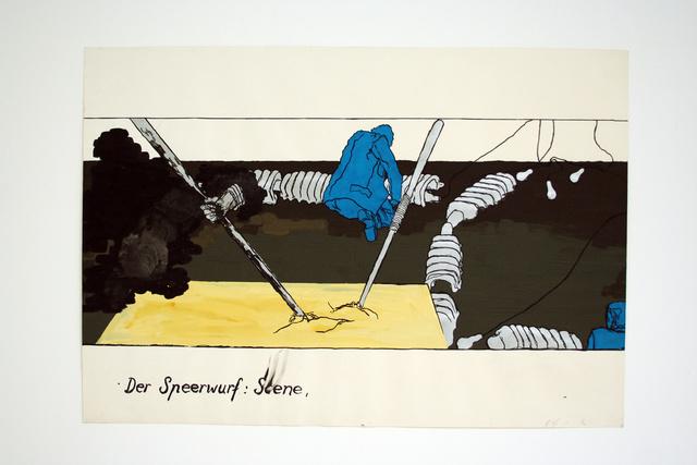 , 'Der Speerwurf,' 1970-1972, Galerie Elisabeth & Klaus Thoman