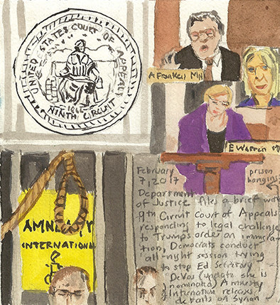 , 'First Radio Headline Heard of the Day Drawing Project 2/7/17,' 2017, frosch&portmann