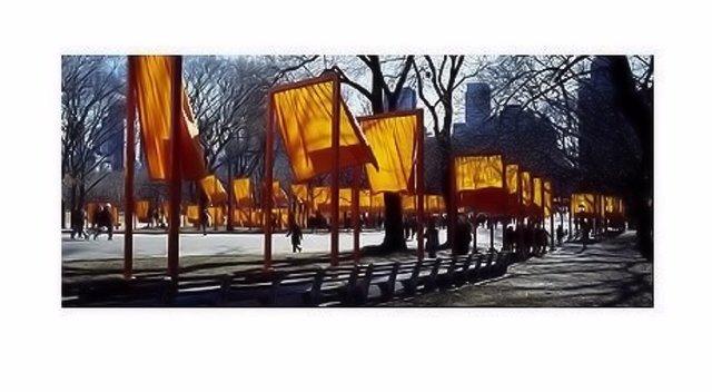 Christo and Jeanne-Claude, 'The Gates Schattenspiel', ARTEDIO