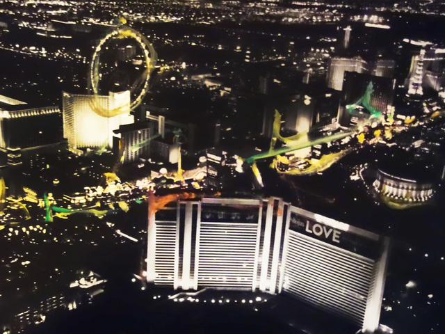 Pete Kasprzak, 'Las Vegas Aerial #6', 2016, Artspace Warehouse