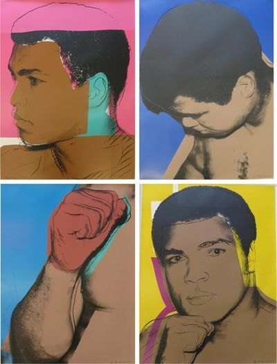 Andy Warhol, 'Muhammad Ali ', 1978, Maddox Gallery