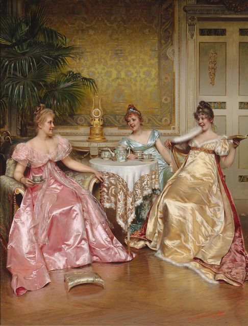 , 'Afternoon Tea for Three,' , M.S. Rau Antiques