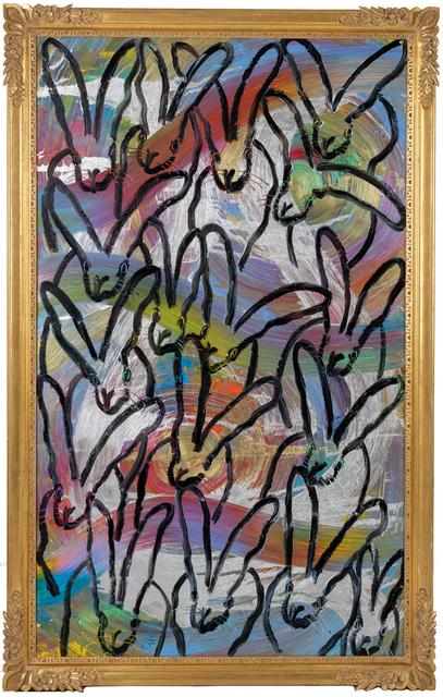 Hunt Slonem, 'Totem Untitled', 2021, Painting, Oil on panel, DTR Modern Galleries