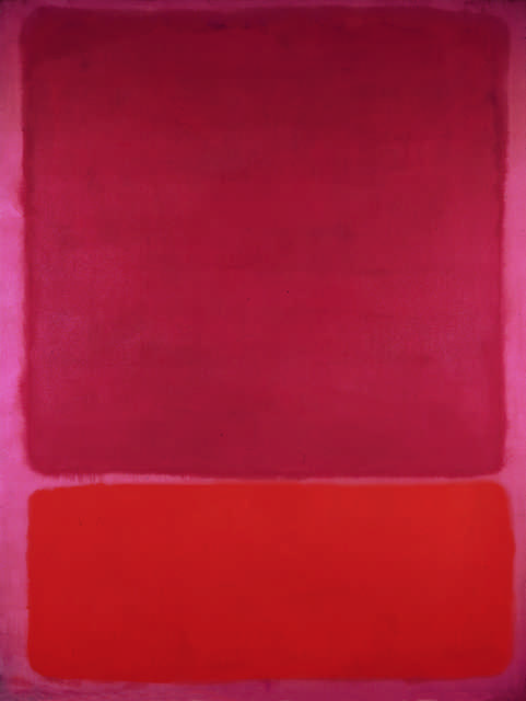 Rothko Red Pink