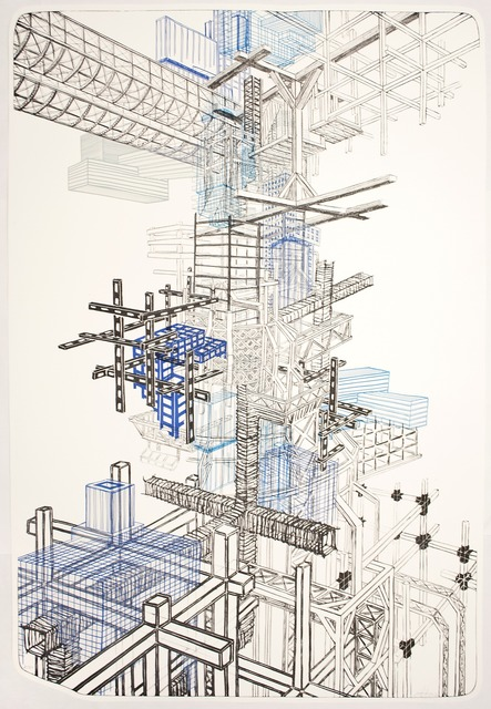 , 'Infrastructure #1,' 2012, Tamarind Institute
