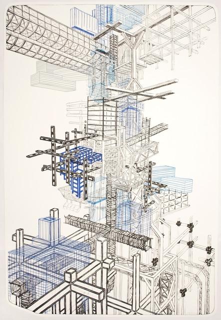 , 'Infrastructure #1,' 2012, Tamarind Institute