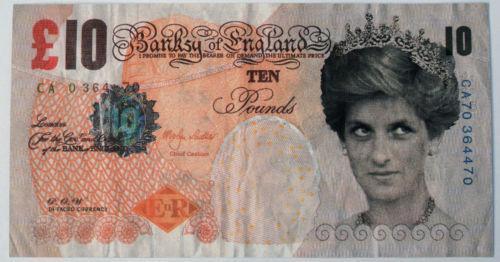 Banksy, 'Di-Faced Tenner', 2004, London Westbank