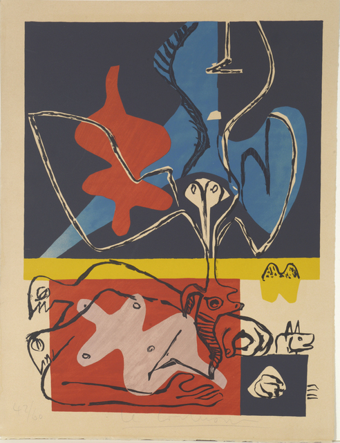, 'Poème de l'Angle Droit – The Poem of the Right Angle,' 1955, William Weston Gallery Ltd.