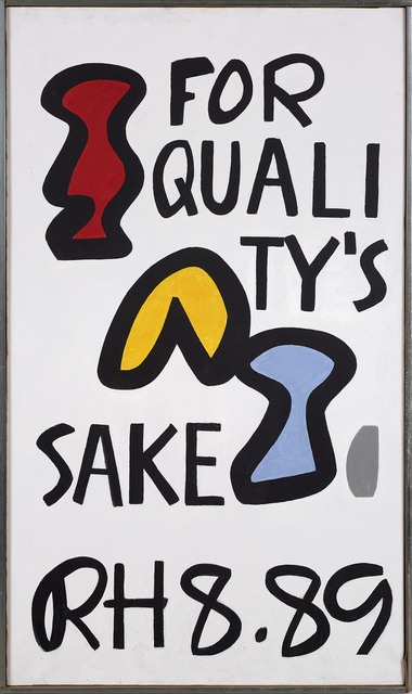 , 'For Quality's Sake,' 1989, Berry Campbell Gallery