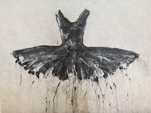 , 'Giant Black Interstellar Tutu' ,' 2019, Galleria Ca' d'Oro