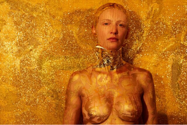 , 'Gold Digger Body Imprint,' 2016, Galleria Ca' d'Oro