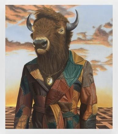 Sean Landers, 'Buffalo Minotaur', 2017, Lougher Contemporary