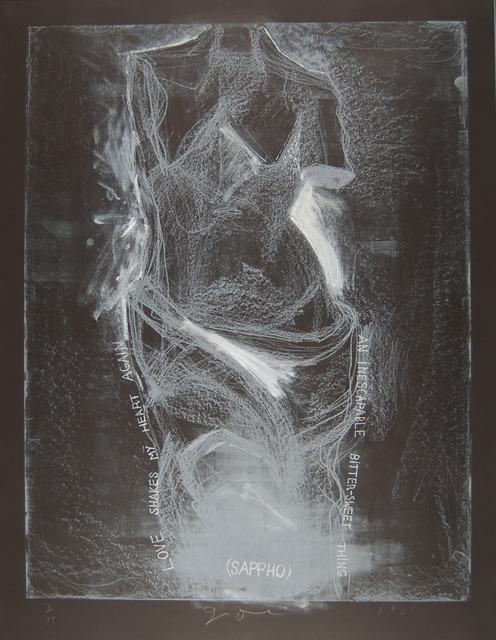 , 'Night Venus and Sappho,' 1985, Zane Bennett Contemporary Art