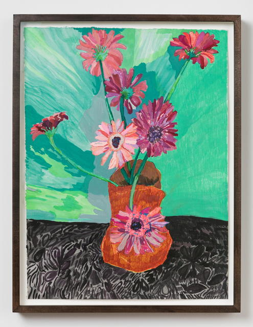 , 'flower still life,' 2017, MARTOS GALLERY