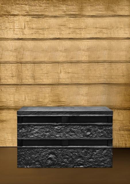 , 'Rough Stone Box,' 2017, Gagosian
