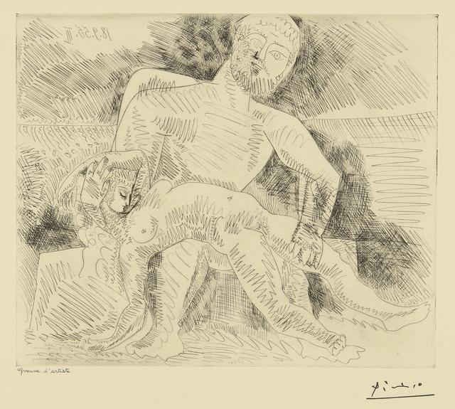 Pablo Picasso, 'Le Rapt (B. 775; Ba. 950)', Print, Etching, Sotheby's