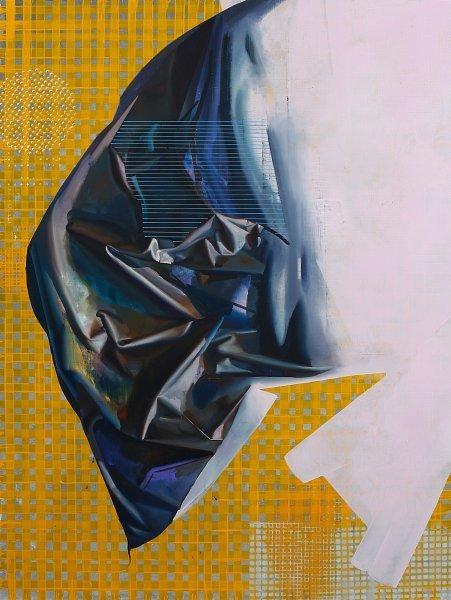 Rayk Goetze, 'Das zweite Gewand', 2020, Painting, Oil and Acrylic on Canvas, Josef Filipp Galerie