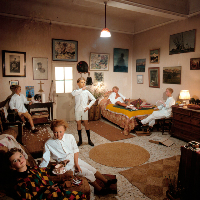 Bernard Faucon, 'Chez Tatie, Les Grandes Vacances', 1980, Holden Luntz Gallery