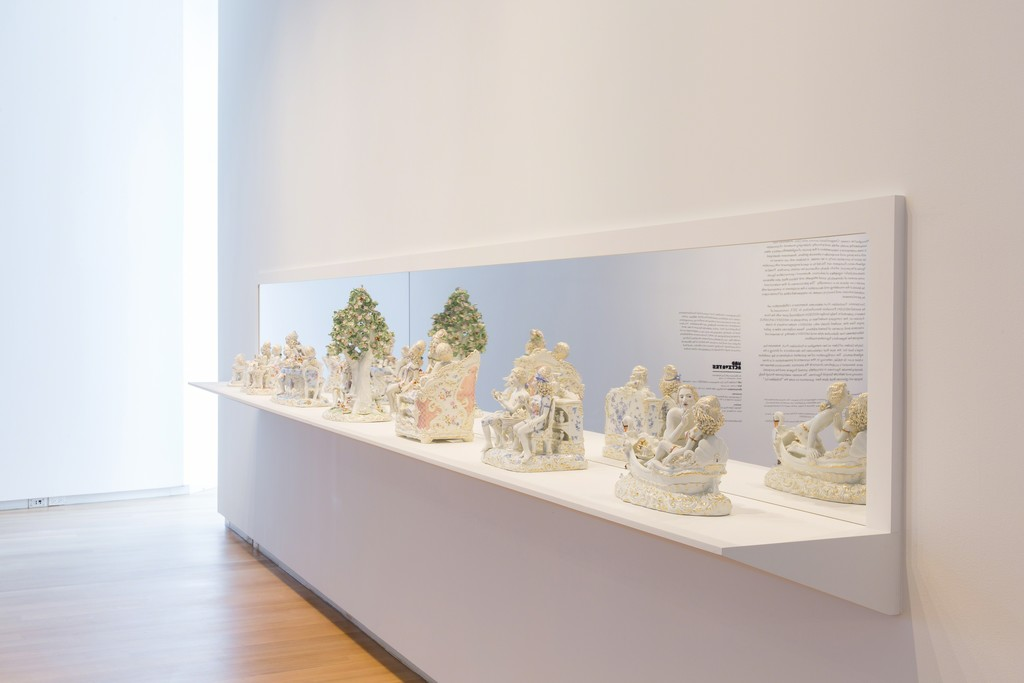 Installation view of 'Chris Antemann: Forbidden Fruit', 2016. Photo by Jenna Bascom. Courtesy of the Museum of Arts and Design.