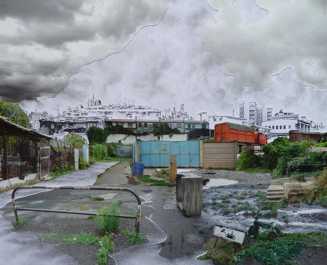 , 'Paesaggio in divenire I,' 2014, Alberto Peola