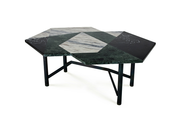 , 'Cortes 06 table,' 2014, mob