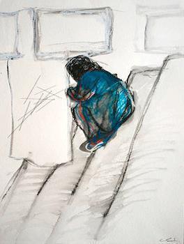, 'Sitting,' 2015, NF/ NIEVES FERNANDEZ