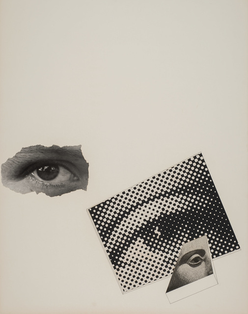 , 'Untitled (Photo montage: three eyes),' , Robert Koch Gallery