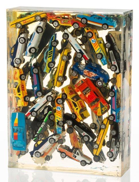 Arman, 'Car Accumulation (Matchbox Cars)', 1985, Heritage Auctions