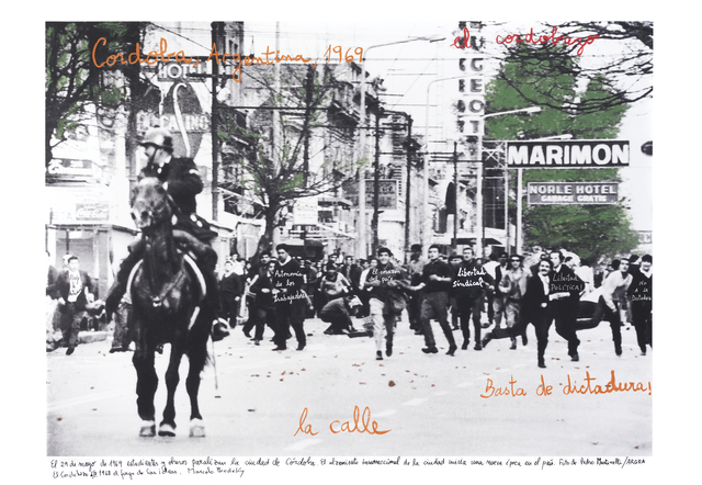 , 'Cordobazo, 1969,' 2015, Bergamin & Gomide