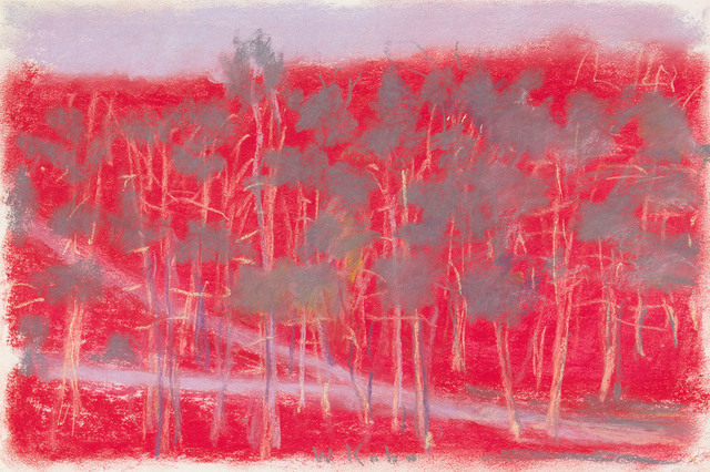 , 'RED UPHILL,' 2002, Jerald Melberg Gallery