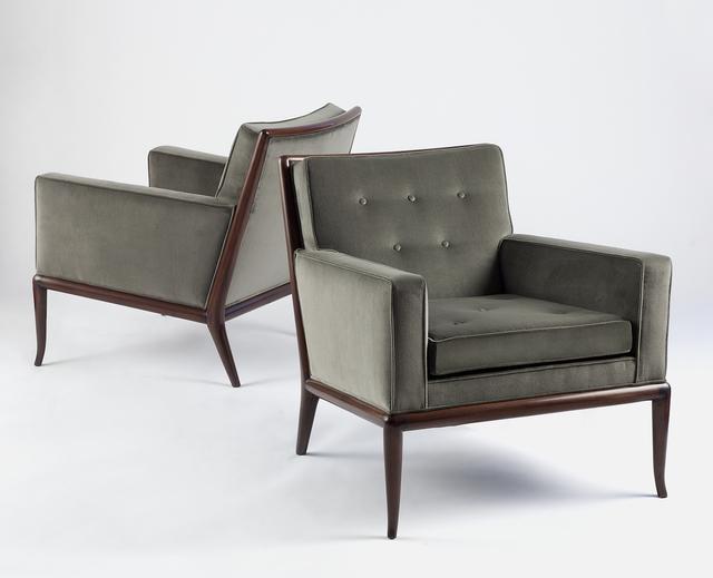 T.H. Robsjohn-Gibbings, 'Pair of WMP Lounge Chairs', c. 1950, Donzella LTD