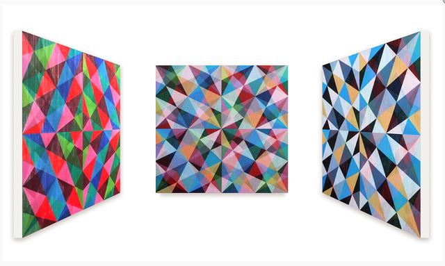, 'Das Geheimniss der letzten Rille ,' 2016, JanKossen Contemporary