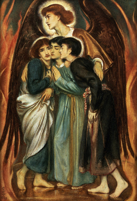 , 'Shadrach, Meshach and Abednego in the Fiery Furnace,' 1863, Mireille Mosler Ltd.