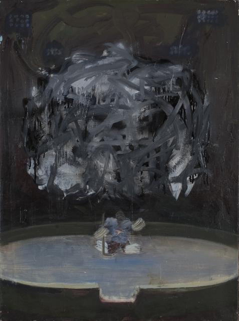 , 'Hockeyman in the forest,' 2011, Galerie Sandhofer