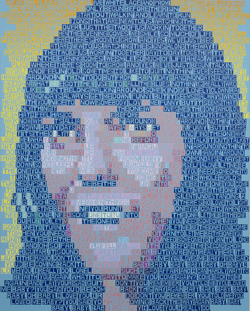 , 'Karen Carpenter,' 2014, Freight + Volume