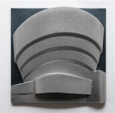 , 'The Solomon R Guggenheim(Metalflake and Silver/Gunmetal),' 1976, Alan Cristea Gallery