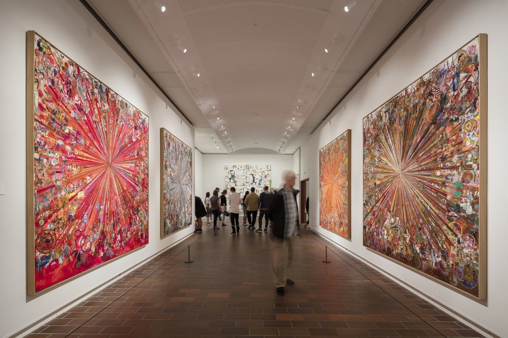 Louisiana Museum of Modern Art. Installation shot: Academy of Tal R, 2017. Photo: Anders Sune Berg